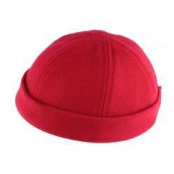 Bonnet Docker Rouge laine Léon Montane