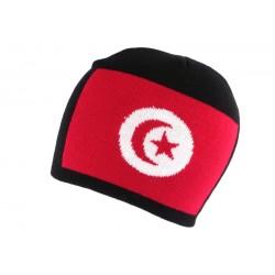 Bonnet Turquie Noir et Rouge Nyls Création BONNETS Nyls Création