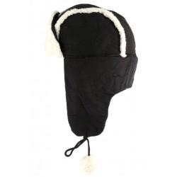 Chapka Noire imitation mouton Val Léon Montane