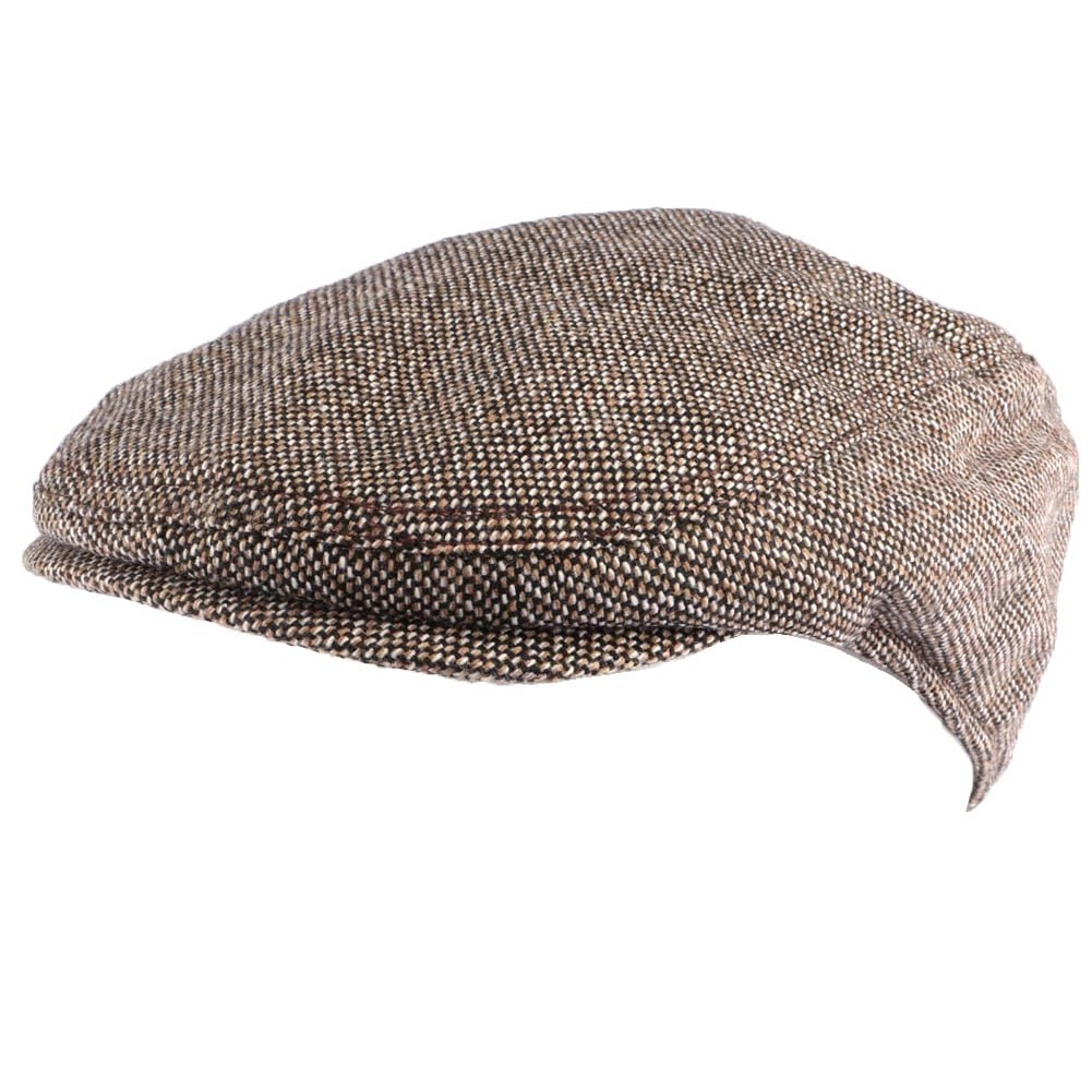 b ret casquette marron en laine rowdy casquette homme livraison 48h. Black Bedroom Furniture Sets. Home Design Ideas