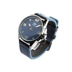 Bracelet montre bleu homme Michael John
