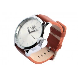 Grosse montre marron homme Korkex Michael John