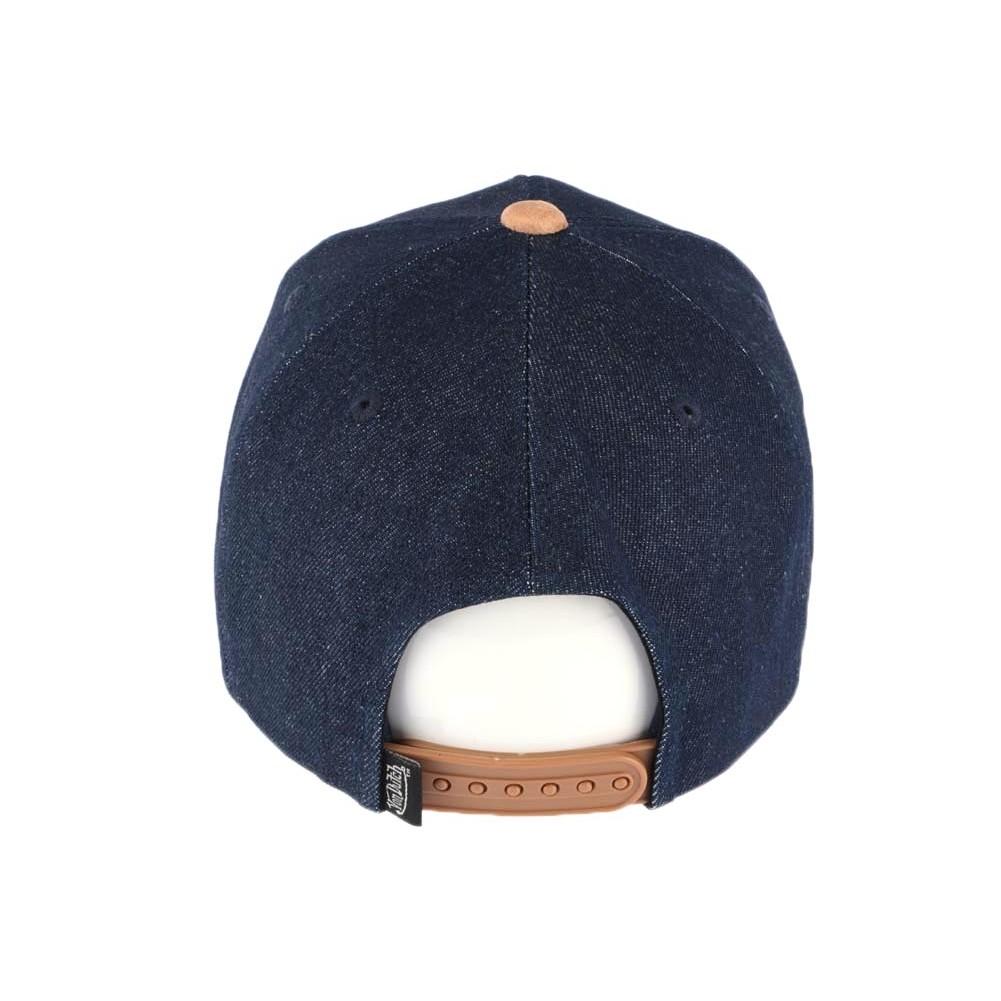 2de8d823d4270 Vente casquette Von Dutch bleu denim Shane, casquette retro livré 48h