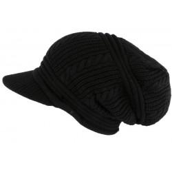 Bonnet Casquette Rasta Noir Kifty Nyls Création BONNETS Nyls Création