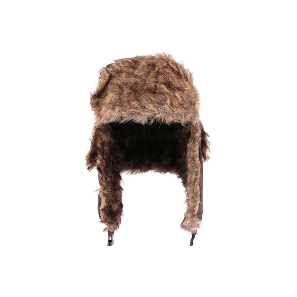 chapka fourrure marron stuck chapka homme et femme mode livr en 48h. Black Bedroom Furniture Sets. Home Design Ideas