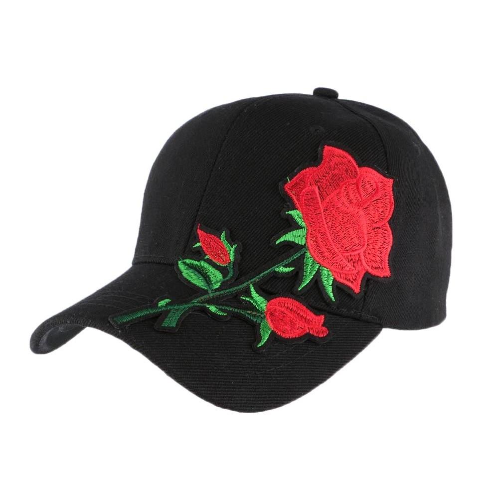 71147b0207b50 Casquette baseball noire rose Rouge, casquette curve fashion livré 48h