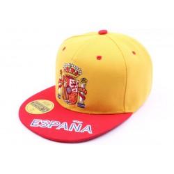 Casquette Snapback Espagne jaune et rouge ANCIENNES COLLECTIONS divers