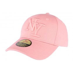 Casquette NY Rose en coton Goody ANCIENNES COLLECTIONS divers