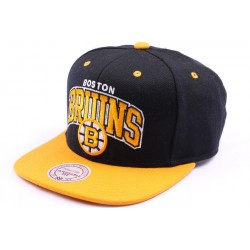 Casquette snapback Boston Bruins Noir et Orange