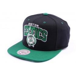 Casquette snapback Boston Celtics Noir et Verte