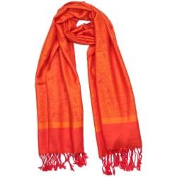 Echarpe Pashmina Orange Delhi par Leon Montane