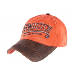 Casquette Von Dutch vintage orange Halton ANCIENNES COLLECTIONS divers
