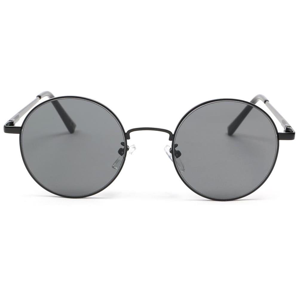 lunette de soleil ronde noire obladi lunette soleil style. Black Bedroom Furniture Sets. Home Design Ideas