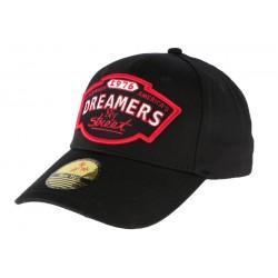 Casquette Baseball NY Noire et Rouge Dreamers
