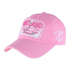 Casquette Baseball Rose Oakland Fun Hip Hop Honour