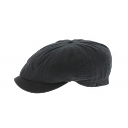 Casquette Gavroche Noire en coton Herman