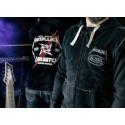 Casquette Metallica Von Dutch Damage Noire et Grise