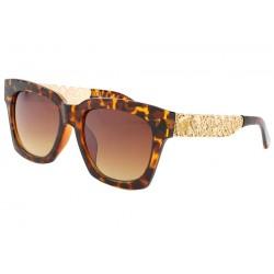 Lunettes de soleil Monture or et marron Salsa LUNETTES SOLEIL Eye Wear