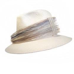 Chapeau Mariage Blanc List Céline Robert