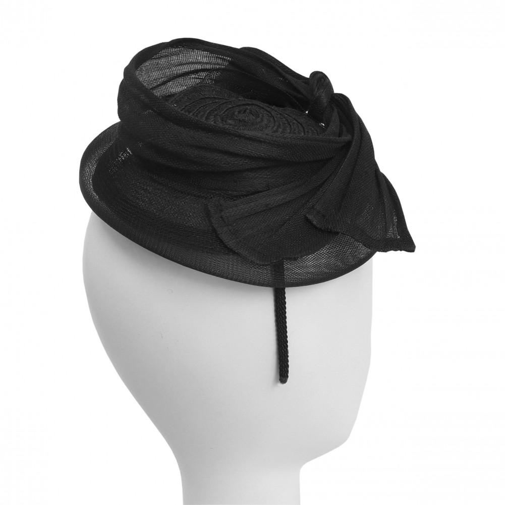 serre t te mariage noir pimele achat chapeau mariage. Black Bedroom Furniture Sets. Home Design Ideas