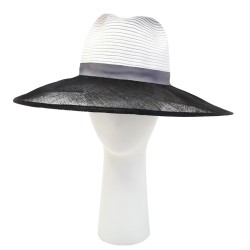 Chapeau Mariage Noir Walamo Céline Robert