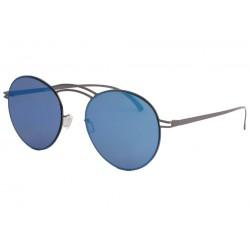 Lunettes de soleil miroir bleu en aluminium Saky