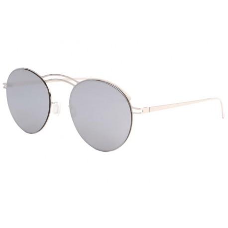Lunettes de soleil miroir argent saky lunette soleil mode for Miroir des modes value