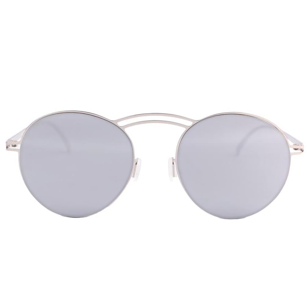 Lunettes de soleil miroir argent saky lunette soleil mode for Miroir gris argent
