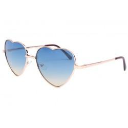 Lunettes de soleil coeur bleu Lovely LUNETTES SOLEIL Eye Wear