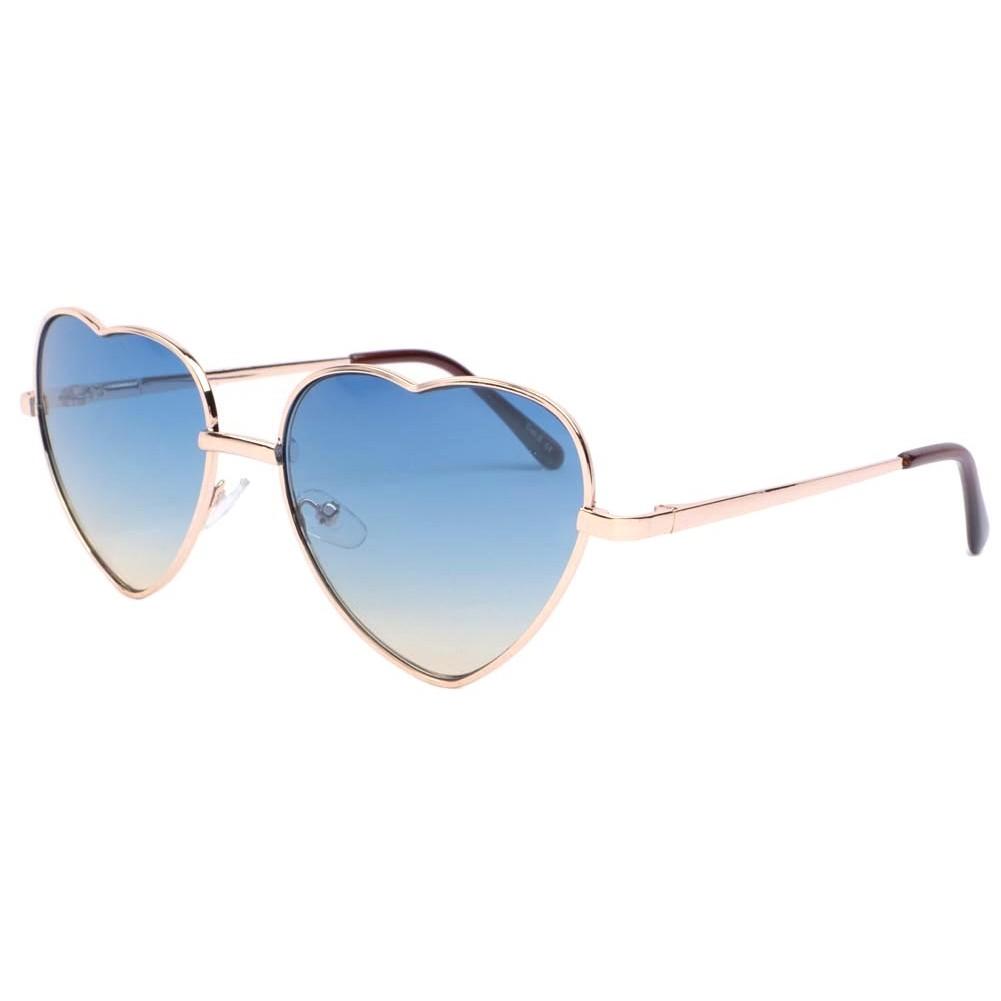 lunettes de soleil coeur bleu lovely lunette soleil fashion livr 48h. Black Bedroom Furniture Sets. Home Design Ideas