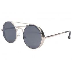 Lunettes de soleil rondes argent pilote Rigby LUNETTES SOLEIL Eye Wear