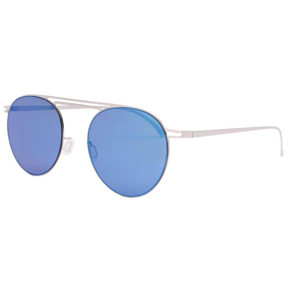 lunettes de soleil miroir bleu lunette monture aluminium livr en 48h. Black Bedroom Furniture Sets. Home Design Ideas