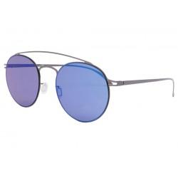 Lunettes de soleil miroir Bleu aluminium Catel