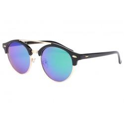 Lunettes de soleil miroir bleu rondes Fily LUNETTES SOLEIL Eye Wear