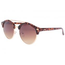 Lunettes de soleil rondes club marron vintage Fily LUNETTES SOLEIL Eye Wear