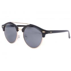 Lunettes de soleil rondes club noires vintage Fily LUNETTES SOLEIL Eye Wear