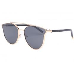 Lunettes de soleil femme fashion noires et dorées Lola LUNETTES SOLEIL Eye Wear