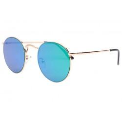 Lunettes de soleil rondes miroir bleu Olky LUNETTES SOLEIL Eye Wear
