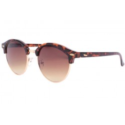 Lunettes de soleil rondes vintage marron club Nory LUNETTES SOLEIL Eye Wear