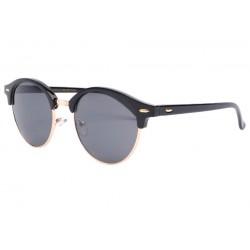 Lunettes de soleil rondes noires vintage club Nory LUNETTES SOLEIL Eye Wear