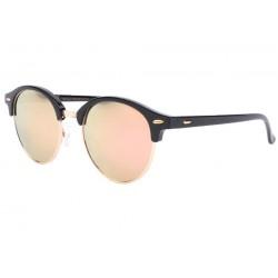 Lunettes de soleil rondes miroir doré club Nory LUNETTES SOLEIL Eye Wear