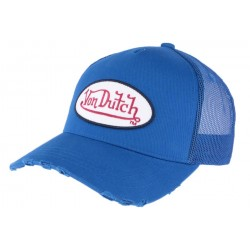 Casquette Von Dutch Bleu Fresh CASQUETTES VON DUTCH