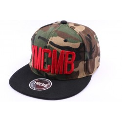Casquette Snapback YMCMB Camouflage et noir ANCIENNES COLLECTIONS divers