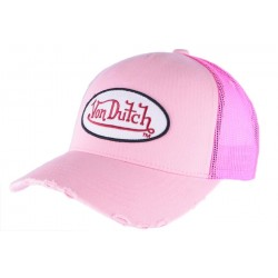 Casquette Von Dutch Rose Fresh Baseball CASQUETTES VON DUTCH