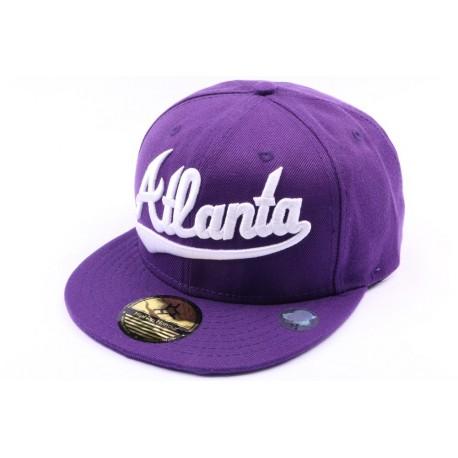 Casquette Atlanta violette