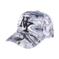 Casquette baseball Enfant Grise Fashion tower de 7 à 11 ANS