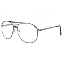 Grosses lunettes loupe noires en métal Vysia