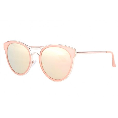 lunettes de soleil roses femme lunette soleil miroir emmy livr 48h. Black Bedroom Furniture Sets. Home Design Ideas