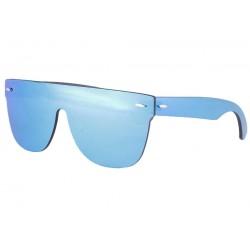 Masque lunettes de soleil miroir bleu Fashion Krost LUNETTES SOLEIL SOLEYL