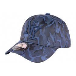 Casquette enfant armée bleu marine Capteen 7 a 12 ans